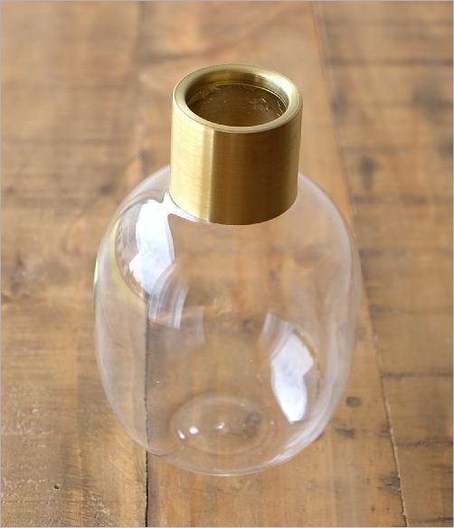 ガラスボトルベース ゴールドエッジ M(2)