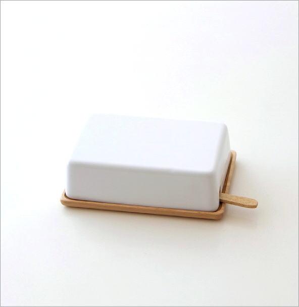 陶器のバターケースナイフ付き B(3)
