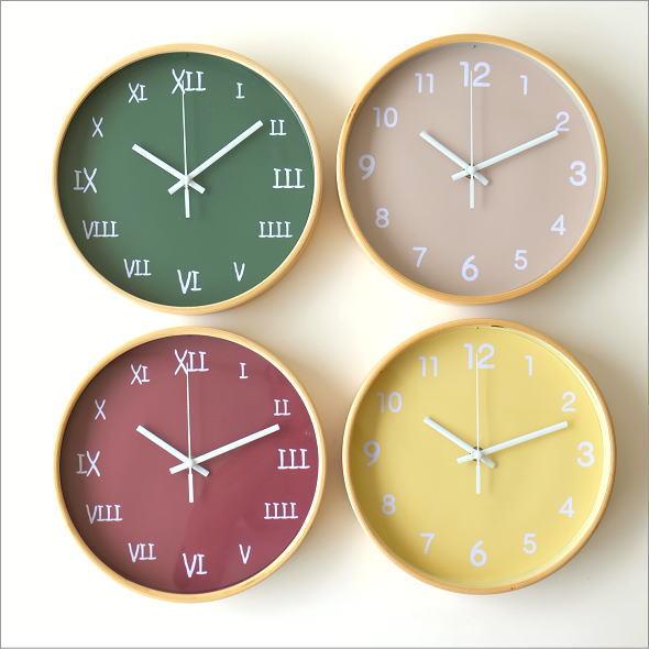 カラフル掛け時計 4タイプ(1)