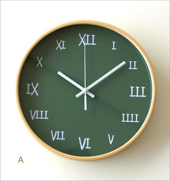 カラフル掛け時計 4タイプ(4)