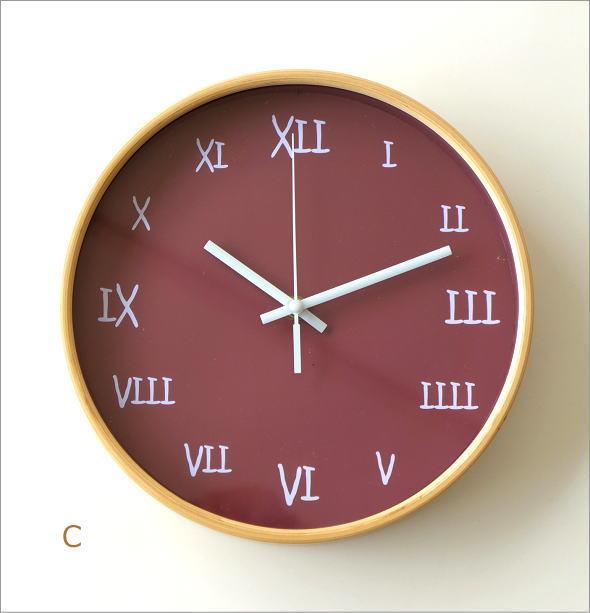 カラフル掛け時計 4タイプ(6)