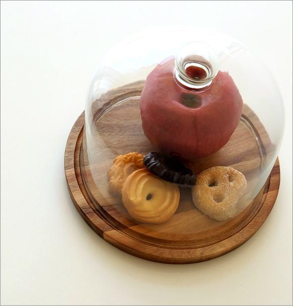 アカシアウッドのケーキドームS(1)