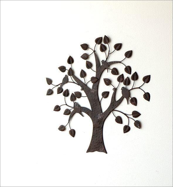 アイアンの壁飾り 4バード(4)