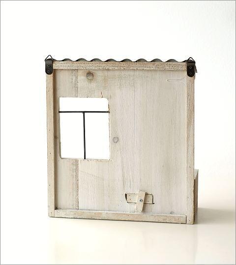 レンガ風ウッド壁掛プランター ガーデン(5)