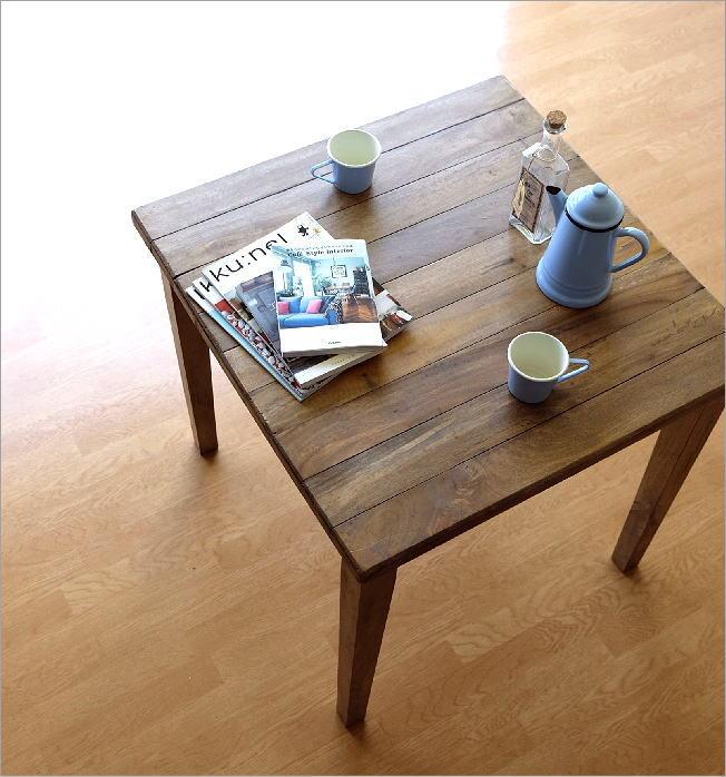 シャビーシックなスクエアテーブル(1)
