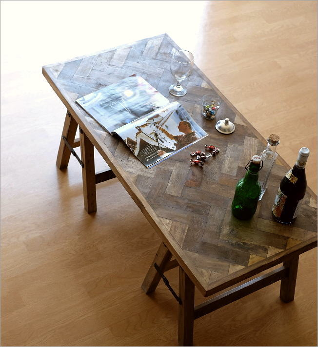 シャビーシックなフォールディングテーブル(1)