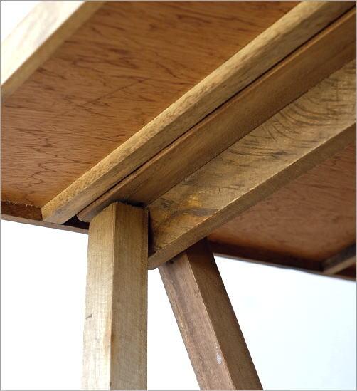 シャビーシックなフォールディングテーブル(4)