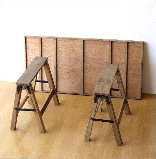 シャビーシックなフォールディングテーブル(5)