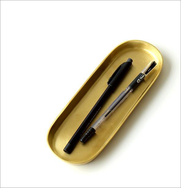 真鍮のロングトレイ(1)