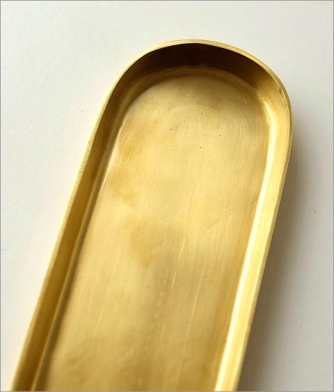 真鍮のロングトレイ(2)
