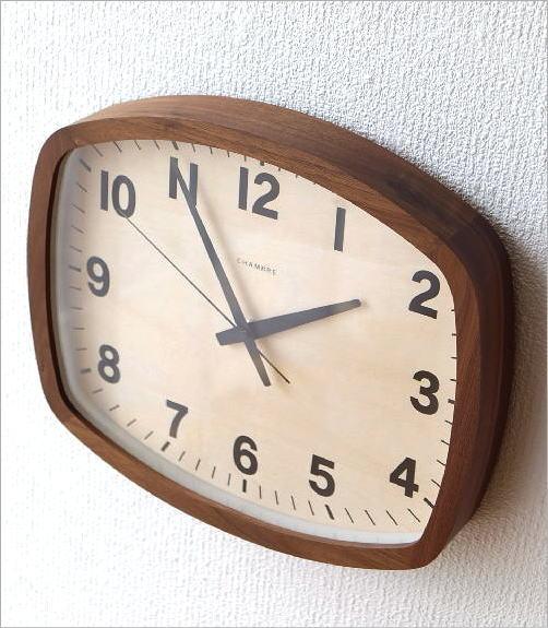 ウォールクロックスクエア電波時計 WN(2)