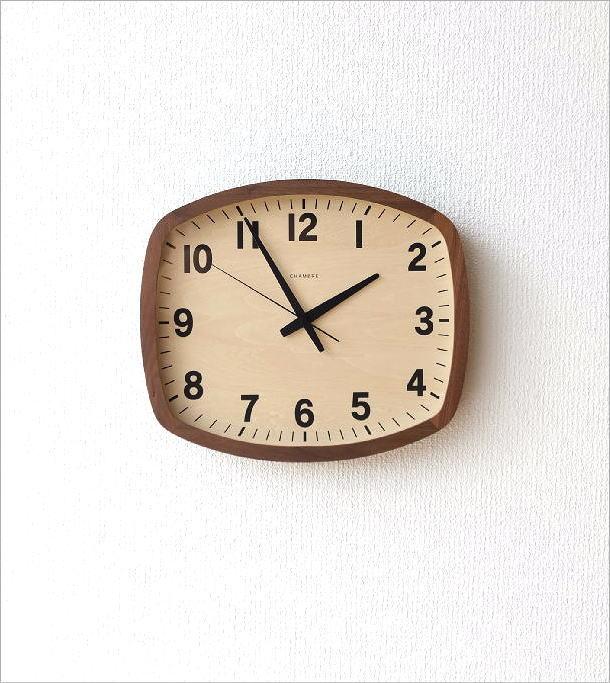 ウォールクロックスクエア電波時計 WN(5)