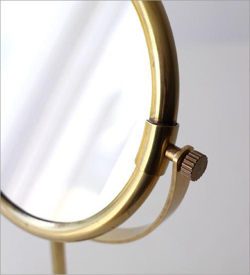 真鍮のスタンドミラー ペデスタル(2)