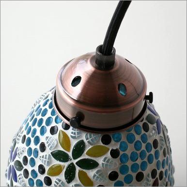 モザイクハンギングランプ みずたま(3)