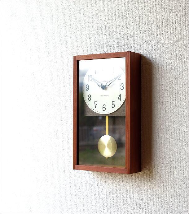 ヒノキ振り子時計(1)
