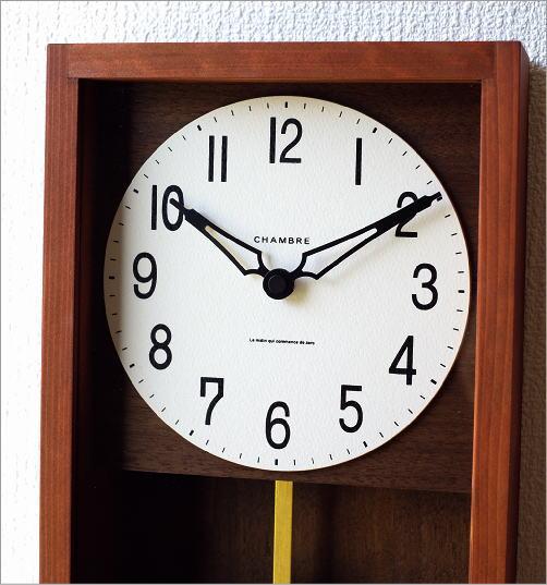 ヒノキ振り子時計(2)