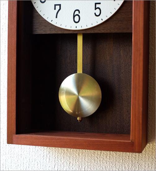 ヒノキ振り子時計(3)
