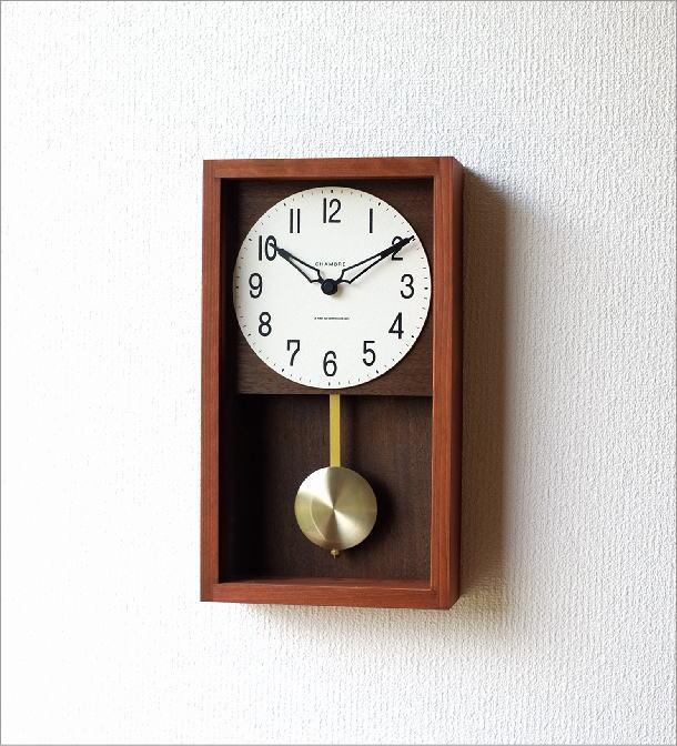 ヒノキ振り子時計(5)
