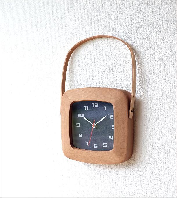 BAG型掛け時計 デニム(1)