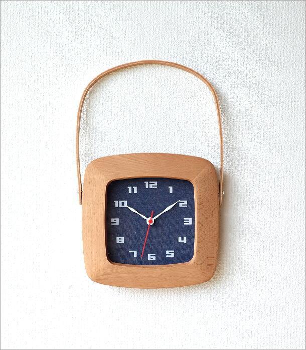 BAG型掛け時計 デニム(5)