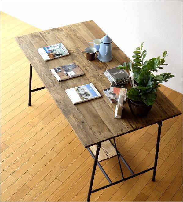 シャビーシックなワークテーブル&デスク B(2)