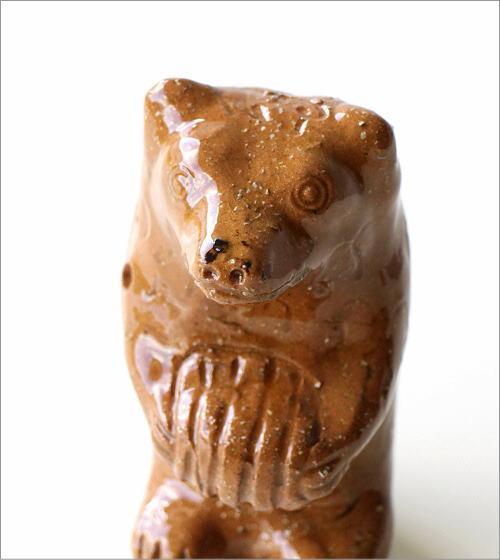 陶器のくまの置物(2)