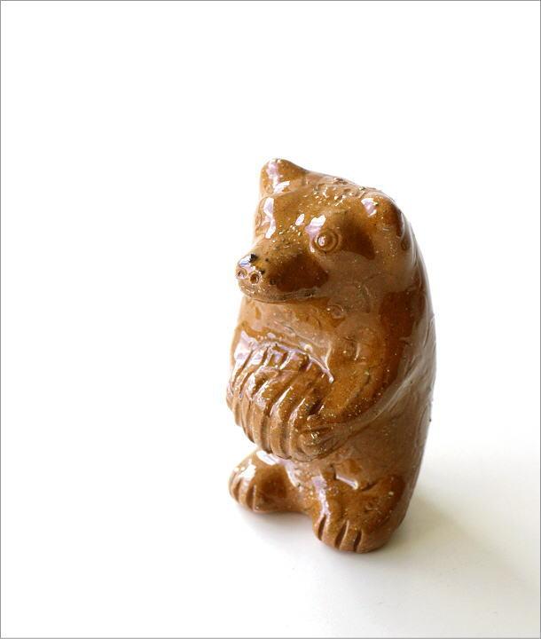 陶器のくまの置物(5)