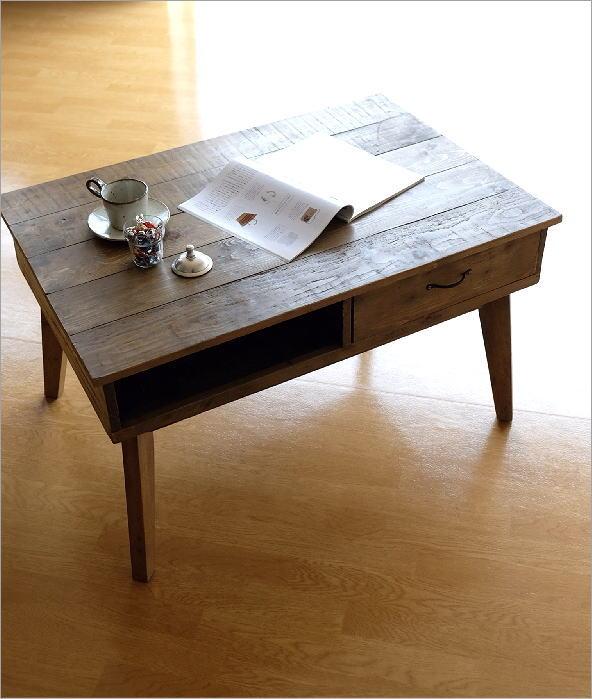シャビーシックなコーヒーテーブル(7)