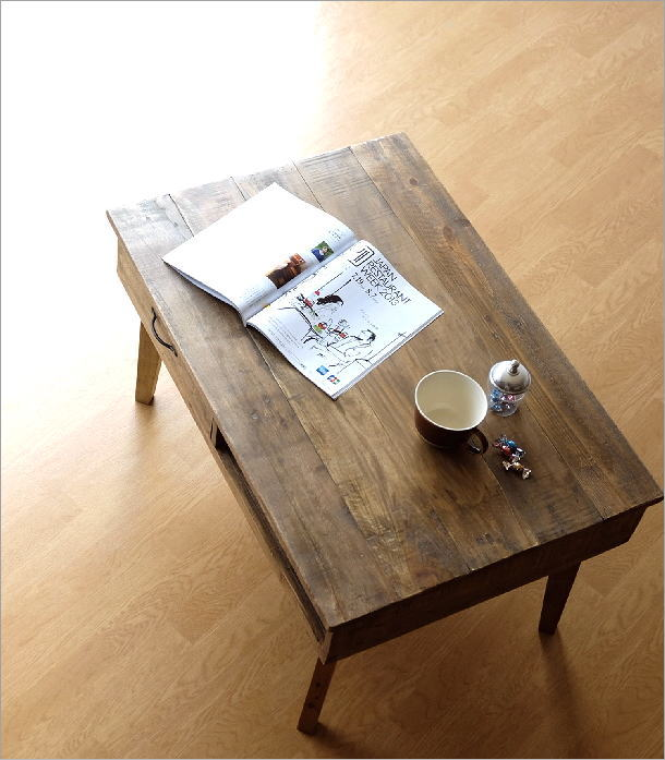 シャビーシックなコーヒーテーブル(1)