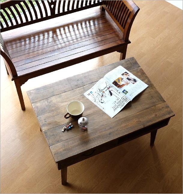 シャビーシックなコーヒーテーブル(2)