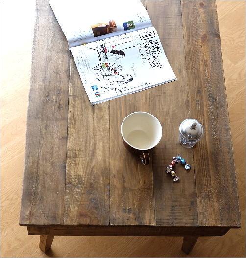 シャビーシックなコーヒーテーブル(3)
