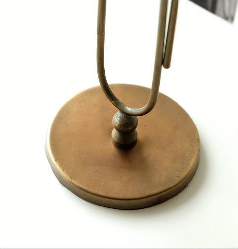 真鍮のビッグクリップスタンド(2)