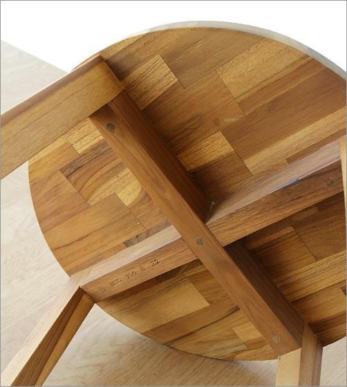 チークウッドスツール&テーブル(3)