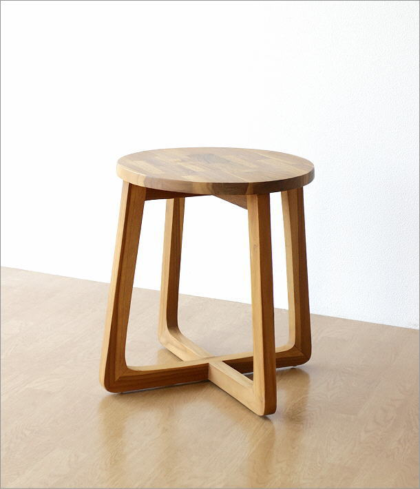 チークウッドスツール&テーブル(5)