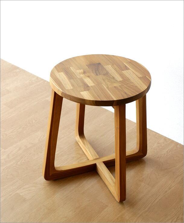 チークウッドスツール&テーブル(6)