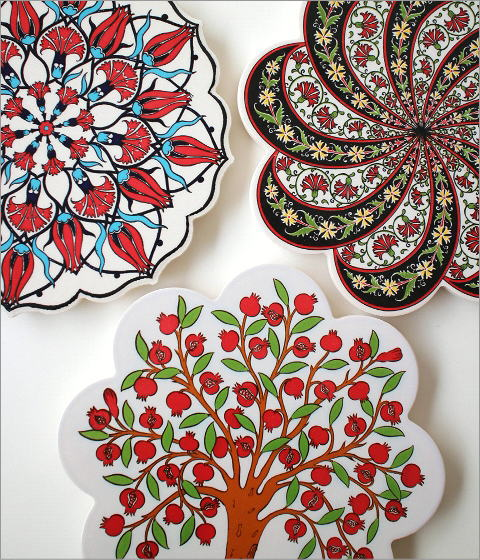 トルコの陶器プレート(7)