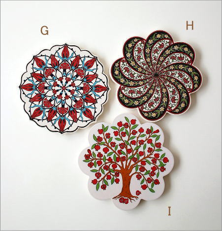 トルコの陶器プレート(8)