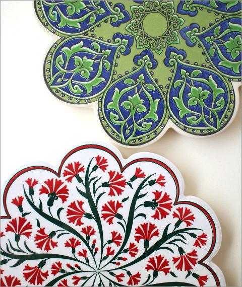 トルコの陶器プレート(9)