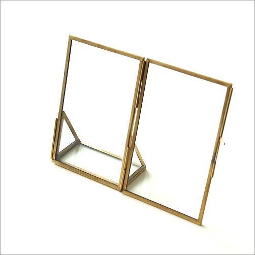 真鍮とガラスのフォトフレームS(4)