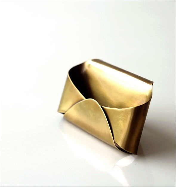真鍮のカードホルダー(1)
