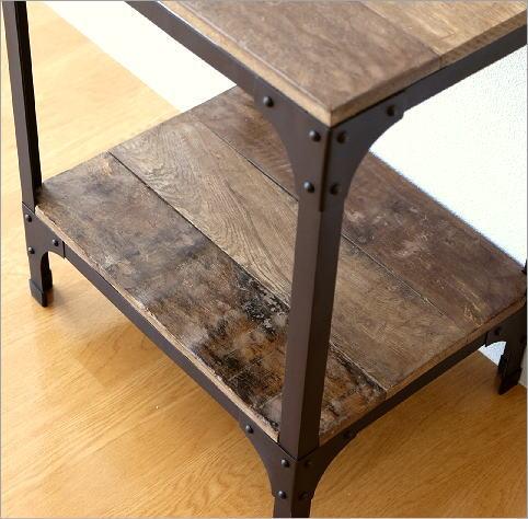 シャビーシックなサイドテーブル(3)
