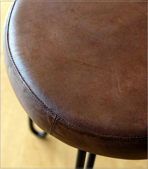 丸椅子 レザースツール ラウンド(2)