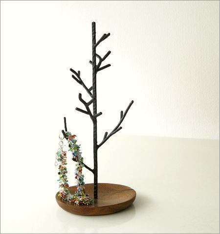 アクセサリースタンド アイアンのツリーホルダー(4)