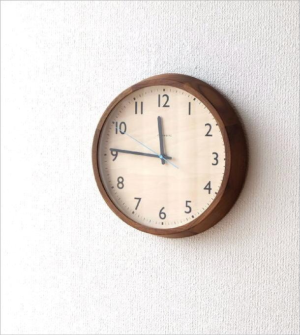 ウォールクロック電波時計 ドロップWN(1)