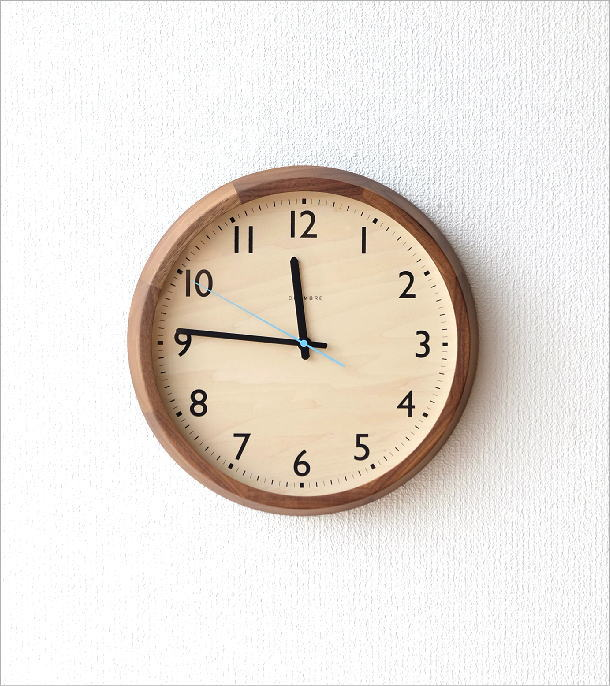 ウォールクロック電波時計 ドロップWN(5)