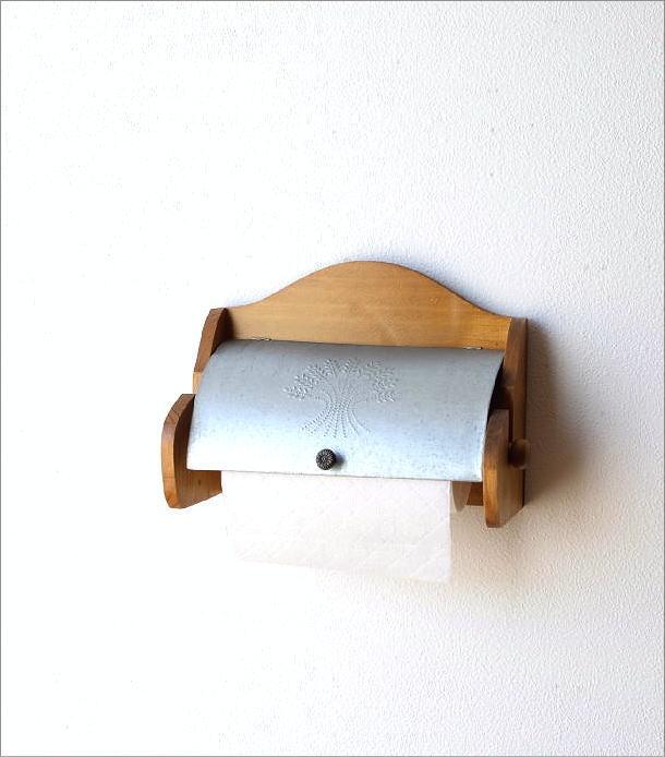 素朴なキッチンペーパーホルダー(1)