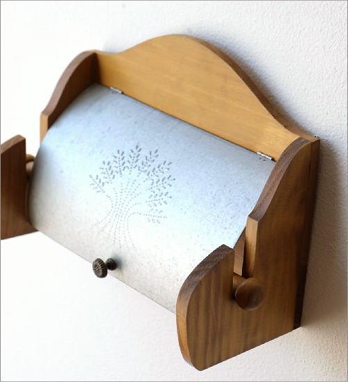 素朴なキッチンペーパーホルダー(2)