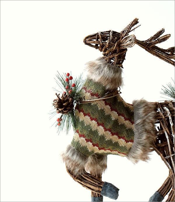 鹿の置物(1)