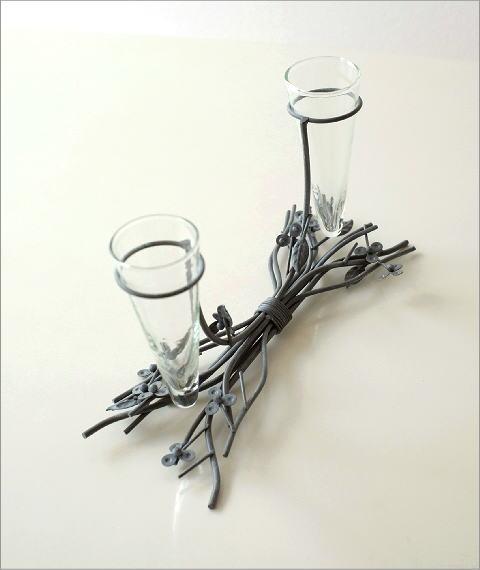 ガラスのツインベース グレイ(3)