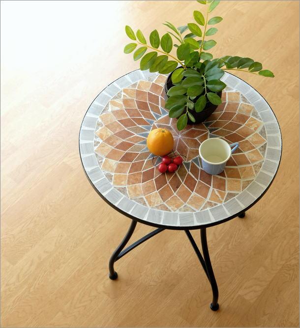 モザイクガーデンテーブル(1)
